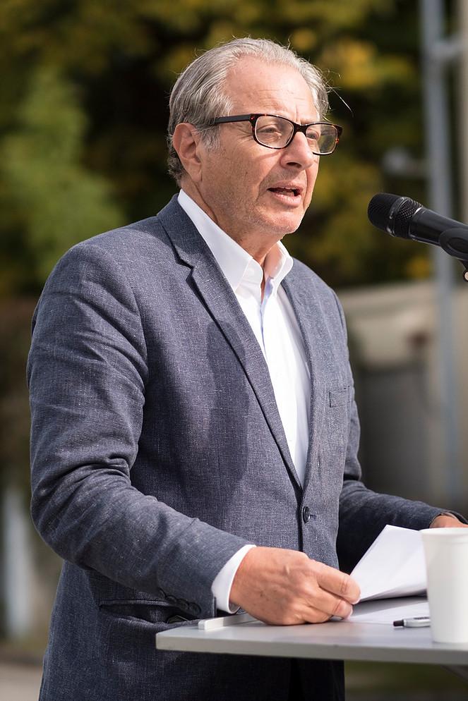 """Rede bei der Eröffnung des Projektes """"Lighthouse"""" der Bayernkaserne"""