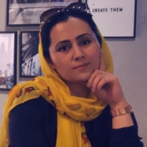 Mariam Haideri, Afghanistan